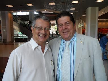 com o ator Stephan Nercesian