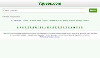 YQueEs.com enciclopedia de datos útiles en internet
