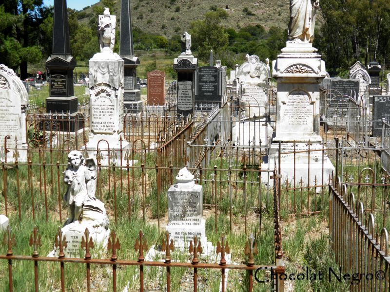 The Cradock cemetary is home to some of the oldest settlers graves in South Africa