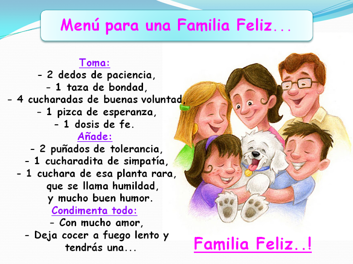 Men para una Familia Feliz