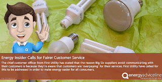 Energy insider calls for fairer customer service