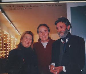 Rosa y yo con nuestro admirado Serrat