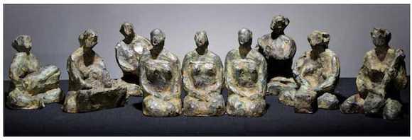 Karya Seni Patung Dolorosa Sinaga