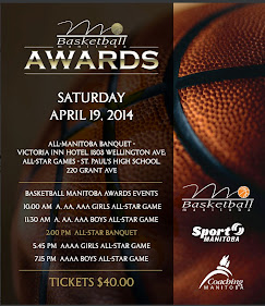 Basketball Manitoba Awards Tickets