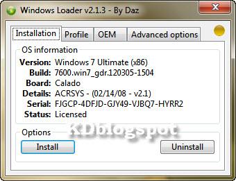 windows loader 2.1.3