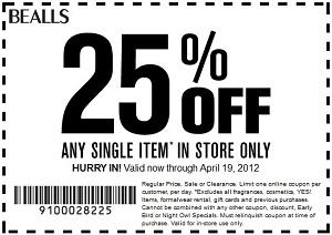 Beallstx com coupons