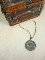 Antique Egyptian Coin Necklace by hotGlued