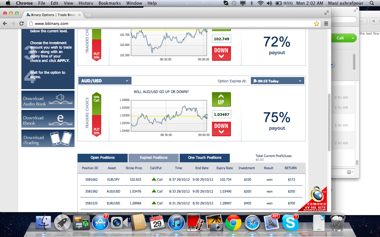 Binary options signals skype