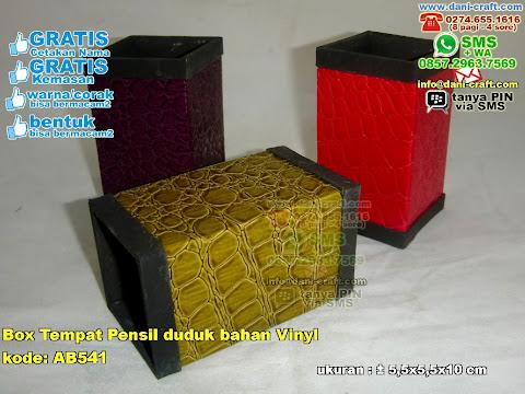 Box Tempat Pensil Duduk Bahan Vinyl
