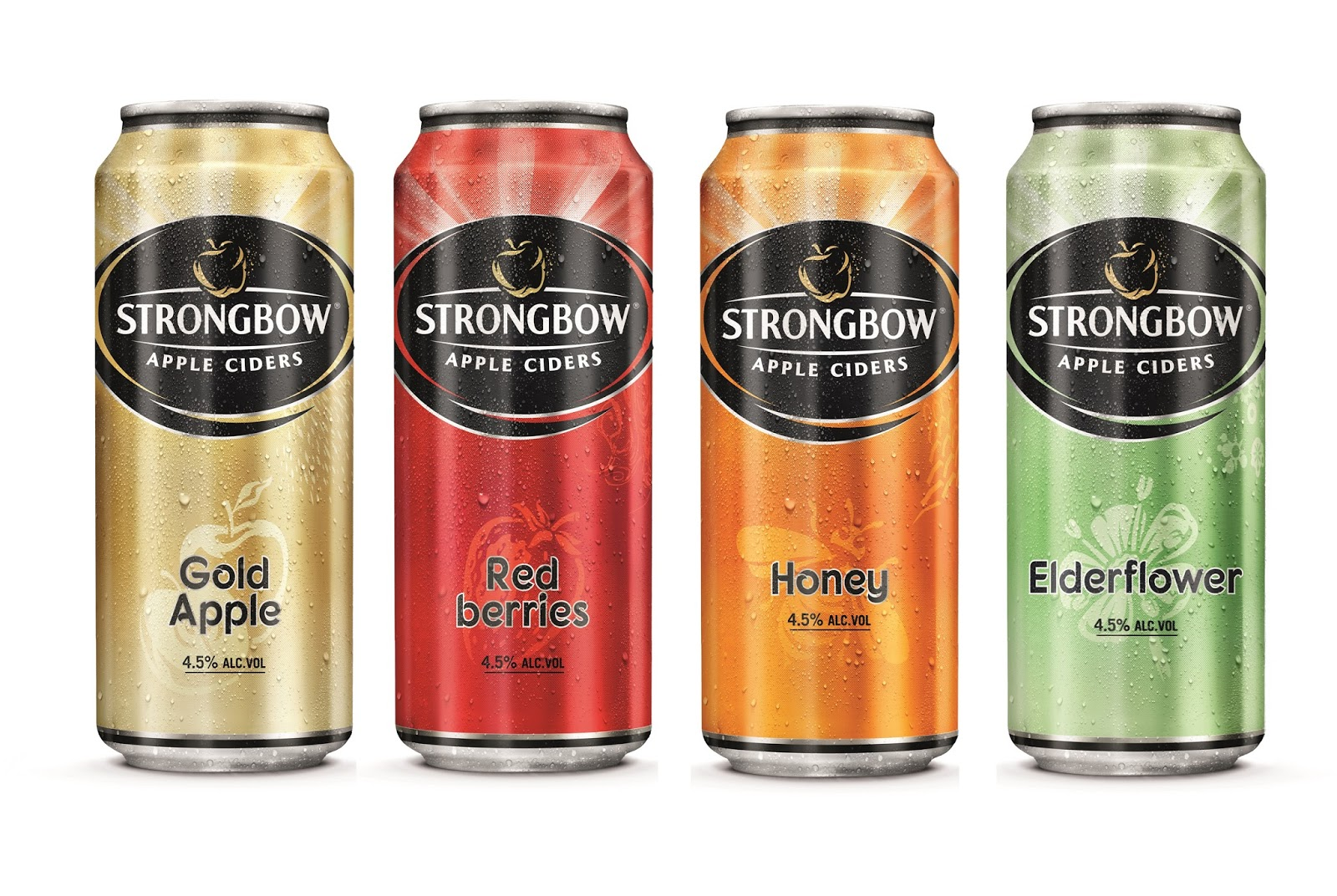 strongbow apple ciders on packaging of the world. Black Bedroom Furniture Sets. Home Design Ideas