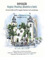 """Exposição """"Angola: Muxima, desenho e texto"""""""