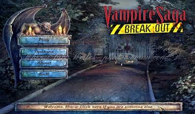 Vampire Saga: Break Out - Main Menu