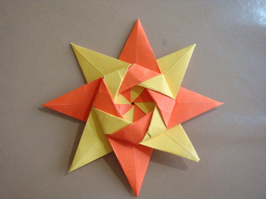 How To Make Origami Flower With Sticky Notes