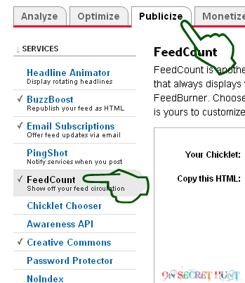 feedbuner+subscriber+deactivate2 How To Keep Your Feed Count Private In Feedburner