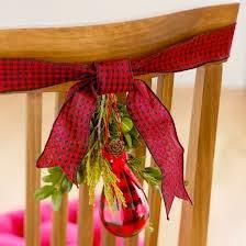 Navidad, Decoración de Sillas, parte 2