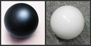 Bola Hitam dan Bola Putih