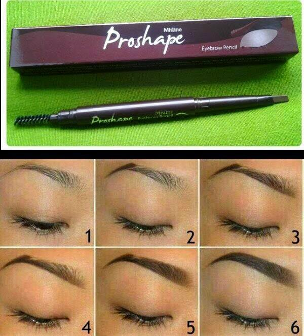 MISTINE PROSHAPE EYEBROW PENCIL