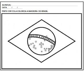 bandeira paracolorir