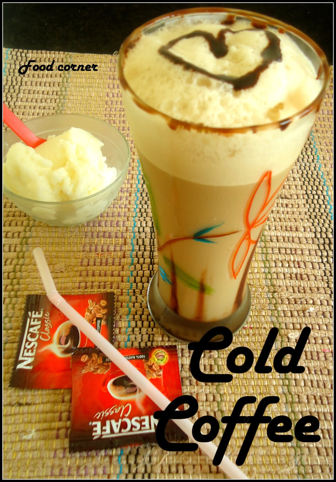 how to make a cold coffee drink at home