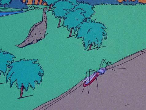 Captura de pantalla del audiovisual de Jurassic Park - Cine de Escritor