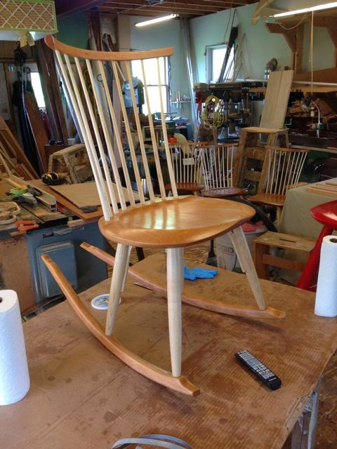 windsor side chair rocker