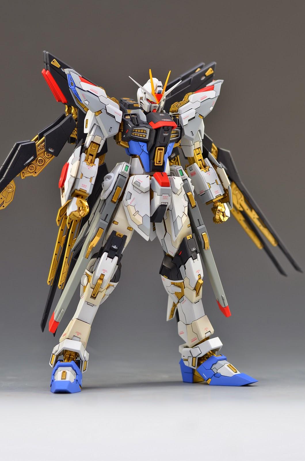 Custom Build: MG 1/100 ZMGF-X20A Strike Freedom Gundam ...