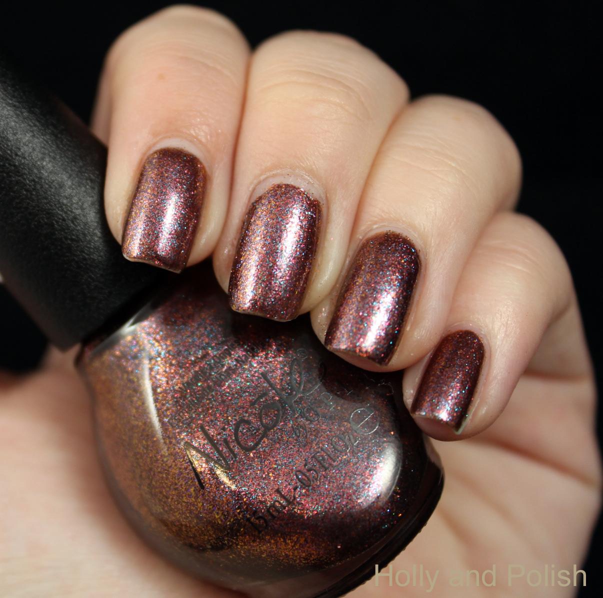 Opi Nail Polish Mauve Color: Holly And Polish: A Nail Polish And Beauty Blog: Nicole By
