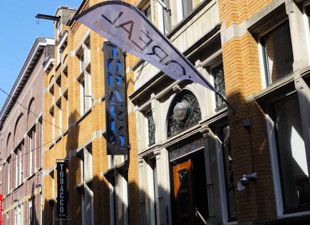 Tabacco theatre in Amsterdam