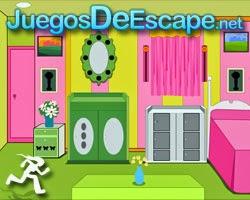 Juegos de Escape Colored Baby Room Escape