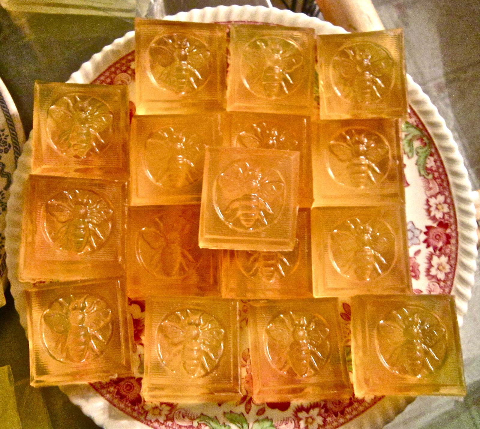 Song Garden Soap: Honey Almond Biscotti Squares, White Tea and Ginger ...
