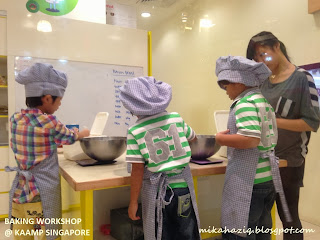 baking class for kids december holidays singapore 2013