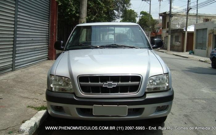 Chevrolet S-10 2003 2.4 - frente