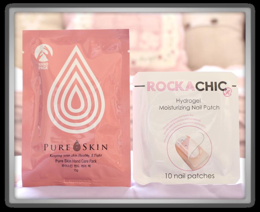 겟잇뷰티박스 by 미미박스 memebox beautybox Special #26 Hand & Nail Care unboxing review pure skin care pack pure plus hydrogel nail patch