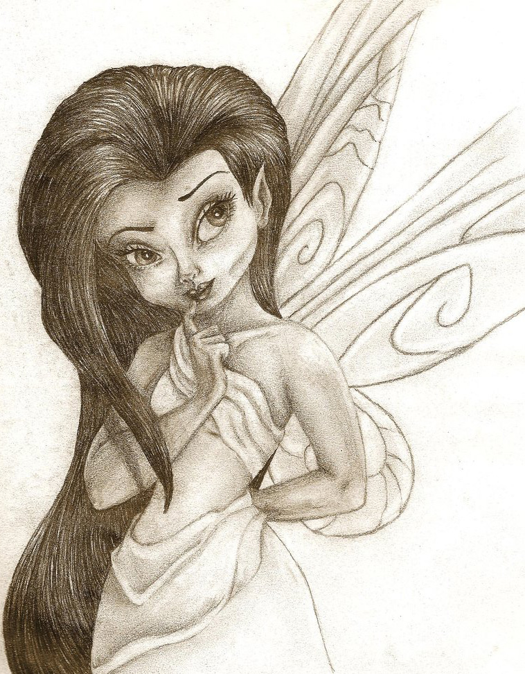 free beautifull disney fairies silvermist coloring pages