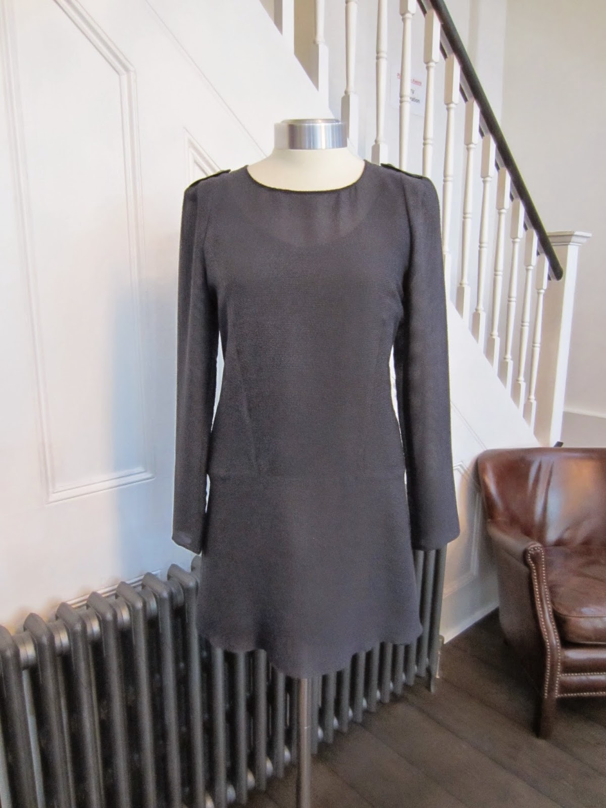 Vanessa Bruno Athe Navy Blue tunic Dress