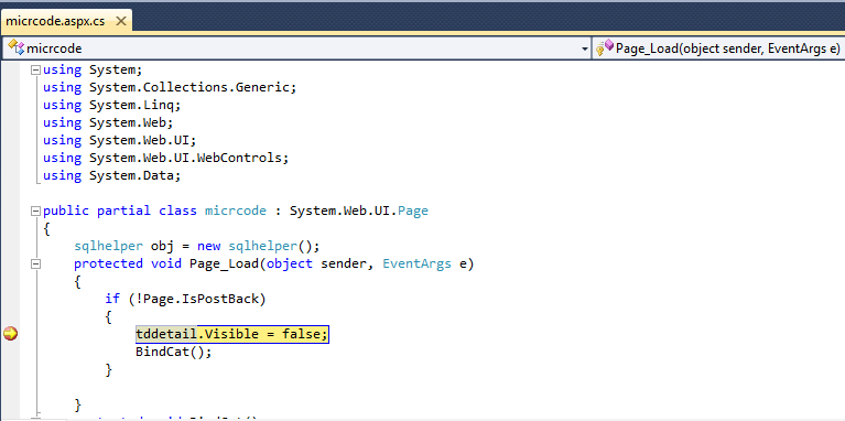 debug using iis in visual studio