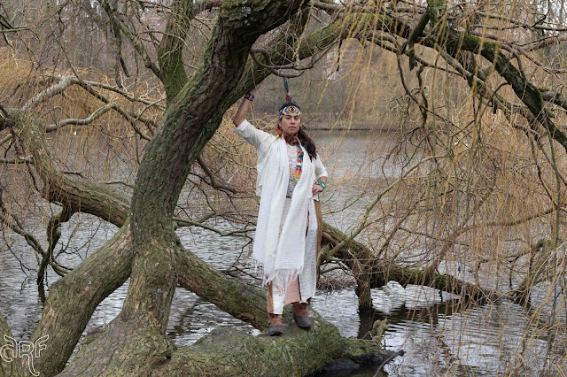 urban shaman at the Vondelpark, Amsterdam