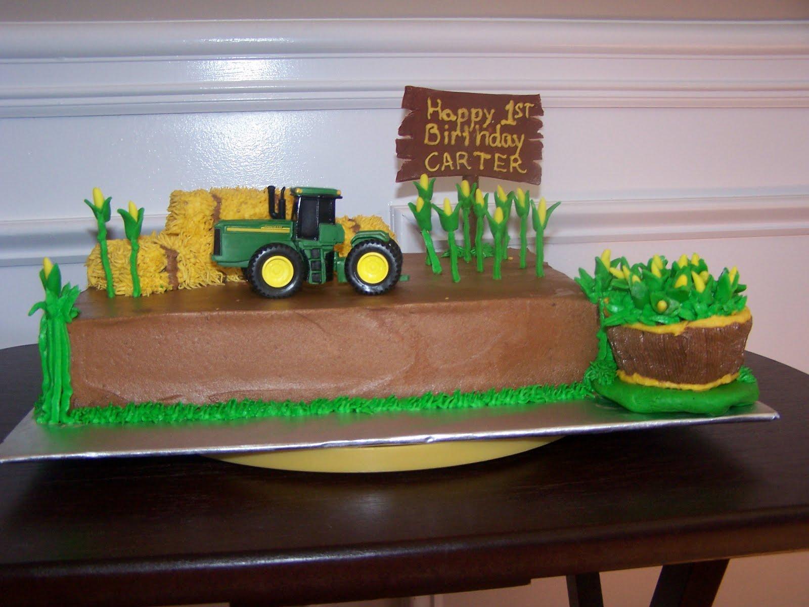 Creative Cakes N More John Deere Cake