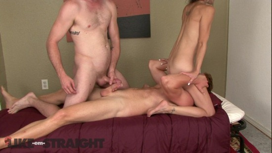 Ginger stud gets his ass rimmed and fucked by his friend 3