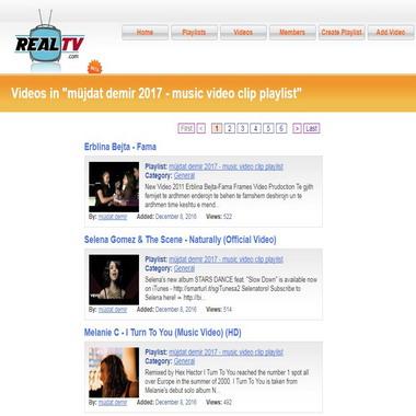 realtv com - playlist - müjdat demir