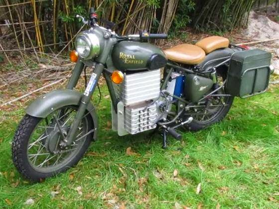 electric royal enfield bullet