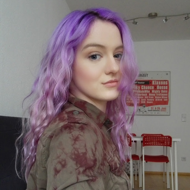 lavender violet lilac mermaid hair