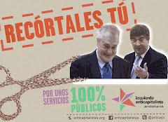 Campaña IA Andalucía. ¡Contra los recortes de la Junta de Andalucía! ¡Recórtales tú!