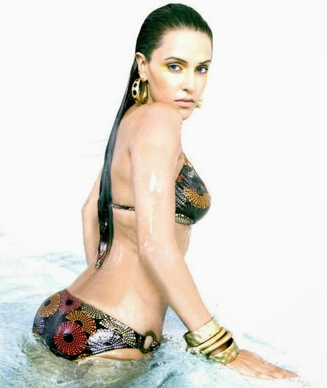 Neha Dhupia in The Man Magazine