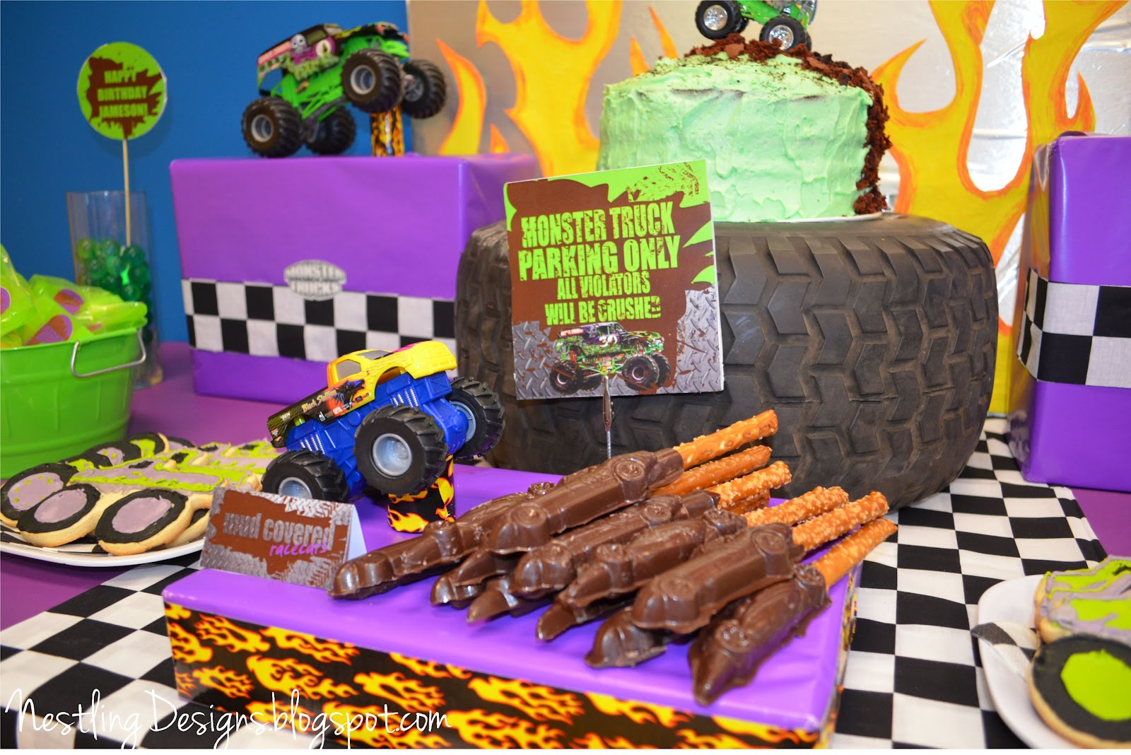 Nestling: Monster Truck Party :: Reveal!