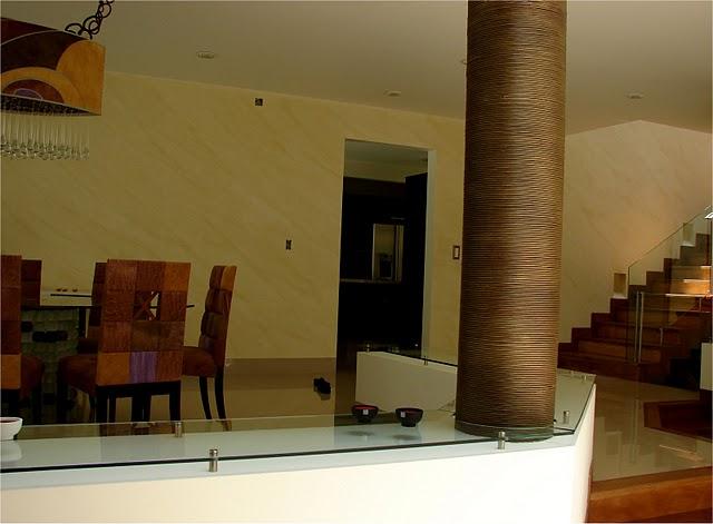 T cnica de pintura de marmolado paredes hogar for Disenos de pintura en paredes