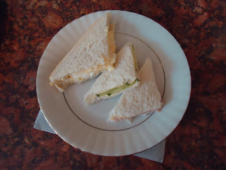 Sandwiches from An English Afternoon Tea