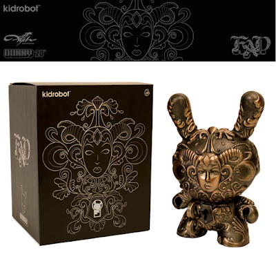 "It's a F.A.D. 8"" Dunny by J*RYU x Kidrobot"
