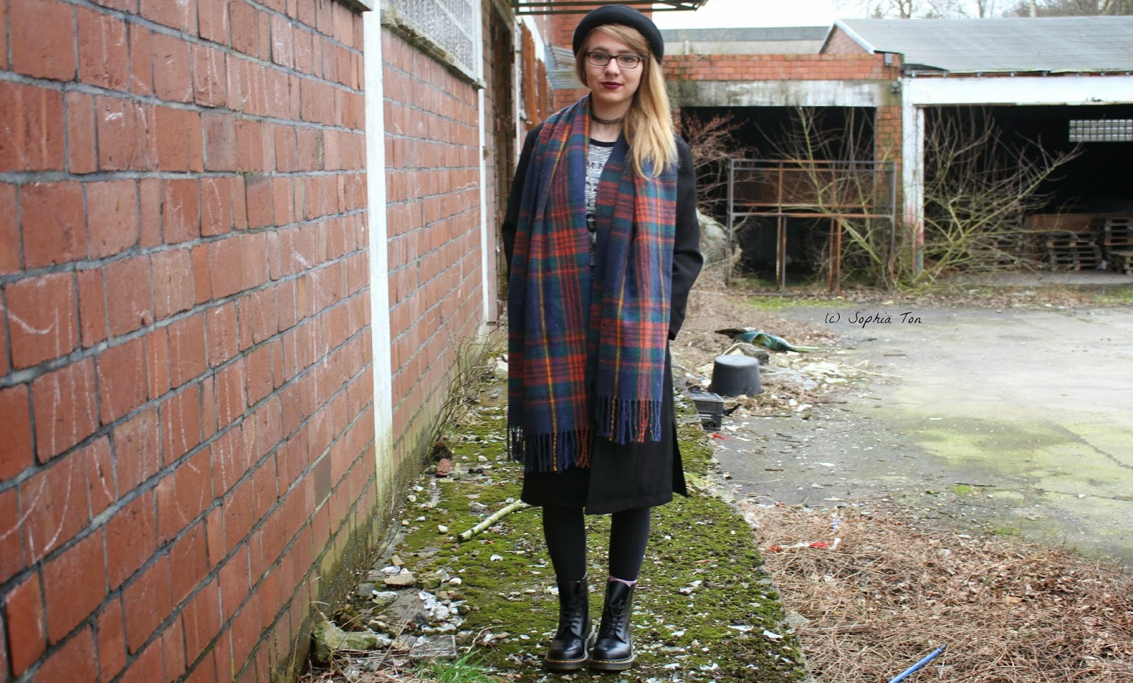 A little bit of grunge | Outfit