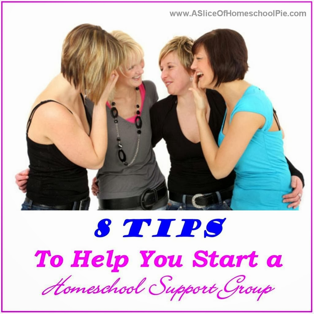 8 Tips for Starting a Homeschool Support Group #homeschool